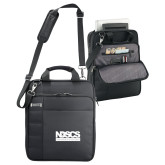 Kenneth Cole Black Vertical Checkpoint Friendly Messenger-NDSCS w/ Science of Success Tagline