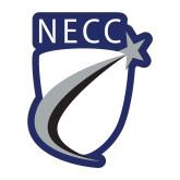 Medium Decal-NECC Shield, 8 inches tall