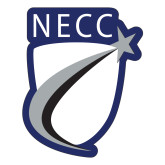 Large Decal-NECC Shield, 12 inches tall