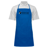 Full Length Royal Apron-Northern  Essex Community College