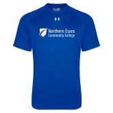 Under Armour Royal Tech Tee-Northern  Essex Community College