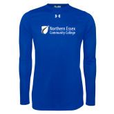 Under Armour Royal Long Sleeve Tech Tee-Northern  Essex Community College