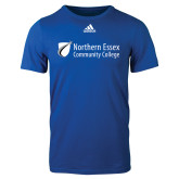 Adidas Royal Logo T Shirt-Northern  Essex Community College