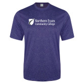 Performance Royal Heather Contender Tee-Northern  Essex Community College