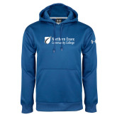 Under Armour Royal Performance Sweats Team Hoodie-Northern  Essex Community College