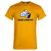 Gold T Shirt-Cross Country