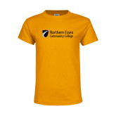 Youth Gold T Shirt-Northern  Essex Community College