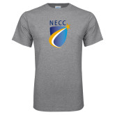 Grey T Shirt-NECC Shield