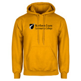 Gold Fleece Hoodie-Northern  Essex Community College