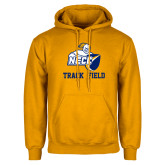 Gold Fleece Hoodie-Track and Field