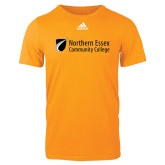Adidas Gold Logo T Shirt-Northern  Essex Community College