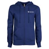ENZA Ladies Royal Fleece Full Zip Hoodie-Northern  Essex Community College