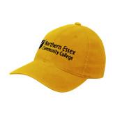 Gold Flexfit Mid Profile Hat-Northern  Essex Community College