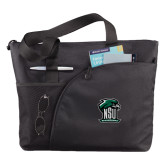 Excel Black Sport Utility Tote-Official Logo
