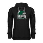 Adidas Climawarm Black Team Issue Hoodie-Northeastern State RiverHawks w/Hawk Head