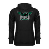 Adidas Climawarm Black Team Issue Hoodie-Alternate Full Hawk Logo Full Color