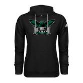 Adidas Climawarm Black Team Issue Hoodie-Alternate Full Hawk Logo Full Color