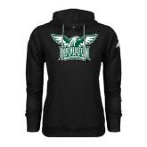 Adidas Climawarm Black Team Issue Hoodie-Alternate Full Hawk Logo Two Color