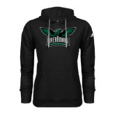 Adidas Climawarm Black Team Issue Hoodie-Alternate RiverHawks Athletics Full Color