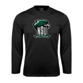 Syntrel Performance Black Longsleeve Shirt-Softball