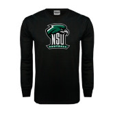 Black Long Sleeve TShirt-Football