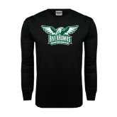Black Long Sleeve TShirt-Alternate RiverHawks Athletics Two Color