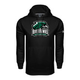 Under Armour Black Performance Sweats Team Hoodie-RiverHawks Athletics