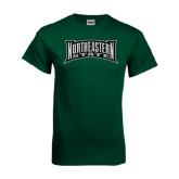 Dark Green T Shirt-Northeastern State