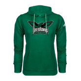 Adidas Climawarm Dark Green Team Issue Hoodie-Alternate RiverHawks Athletics Reduced Color