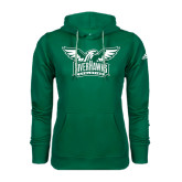 Adidas Climawarm Dark Green Team Issue Hoodie-Alternate RiverHawks Athletics Two Color
