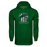 Under Armour Dark Green Performance Sweats Team Hoodie-Tennis