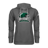Adidas Climawarm Charcoal Team Issue Hoodie-RiverHawks Athletics