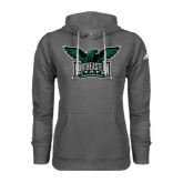 Adidas Climawarm Charcoal Team Issue Hoodie-Alternate Full Hawk Logo Full Color