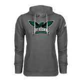 Adidas Climawarm Charcoal Team Issue Hoodie-Alternate RiverHawks Athletics Reduced Color