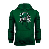 Dark Green Fleece Hood-RiverHawks Athletics