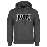 Charcoal Fleece Hoodie-Northeastern State