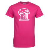 Cyber Pink T Shirt-Official Logo