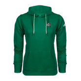Adidas Climawarm Dark Green Team Issue Hoodie-NSU Northeastern State