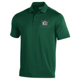 Under Armour Dark Green Performance Polo-NSU Northeastern State