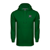 Under Armour Dark Green Performance Sweats Team Hoodie-NSU Northeastern State