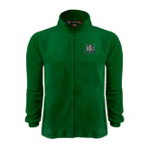 Fleece Full Zip Dark Green Jacket-NSU Northeastern State