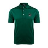 Dark Green Dry Mesh Polo-Official Logo