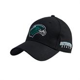 Black Heavyweight Twill Pro Style Hat-RiverHawk Head