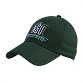 Dark Green Heavyweight Twill Pro Style Hat-NSU Northeastern State