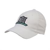 White OttoFlex Unstructured Low Profile Hat-NSU Northeastern State