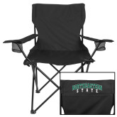 Deluxe Black Captains Chair-Northeastern State
