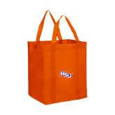 Non Woven Orange Grocery Tote-NSU