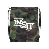 Camo Drawstring Backpack-NSU