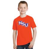 Youth Orange T Shirt-NSU