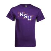 Purple T Shirt-NSU